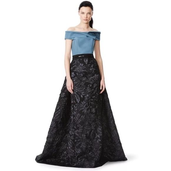 Carolina Herrera Dresses 6 Off Shoulder Evening Gown Gala Poshmark
